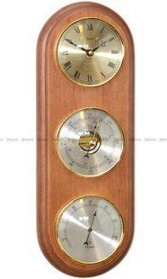 Barometr Termometr Zegar TFA Owal3DZegar-N-08-BWA3