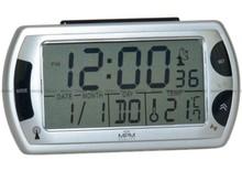 Budzik cyfrowy z termometrem, sterowany radiowo MPM C02.2764.70
