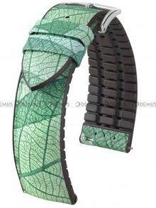 Pasek kauczukowy do zegarka - Hirsch Leaf 0921046140-2-18 - 18 mm - M