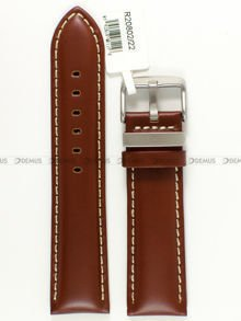 Pasek skórzany do zegarka - JVD R20802/22 - 22 mm