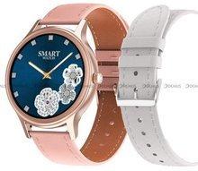Smartwatch Pacific 18-6-RG-White - dodatkowy pasek w zestawie