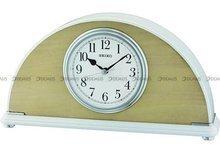 Zegar kominkowy kwarcowy Seiko QXE058B - 15x30 cm