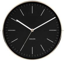 Zegar ścienny Karlsson Minimal KA5695BK - 27 cm