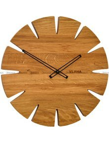 Zegar ścienny Vlaha Original VCT1032 - Z litego drewna dębowego