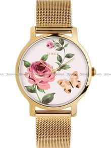 Zegarek Damski Timex Full Bloom TW2U19100