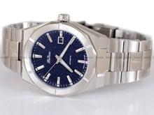 Zegarek Męski Balticus Gwiezdny Pył 40 mm, Awenturyn Niebieski, z Datownikiem - Dodatkowy pasek w zestawie