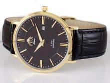 Zegarek Męski FujiTime M6106Q-Gold-Black