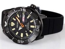 Zegarek Męski Seiko Prospex Black Series Monster Automatic Diver SRPH13K1 - Limitowana Edycja