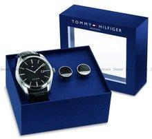 Zegarek Męski Tommy Hilfiger Theo 2770100 - Spinki do mankietów w zestawie