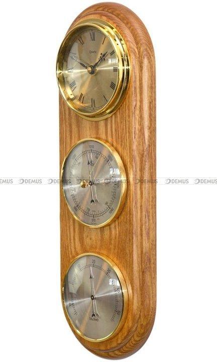 Barometr Termometr Zegar TFA Owal3DZegar-N-01-CD