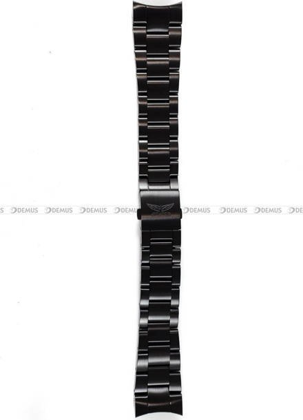 Bransoleta do zegarka Aviator P45 - 22 mm - czarna