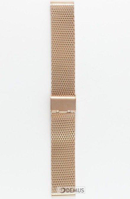 Bransoleta do zegarka - Diloy CMMESH10-22-Rosegold - 22 mm