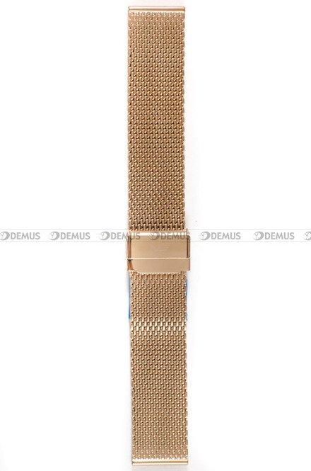 Bransoleta stalowa do zegarka Vostok Almaz - 22 mm różowe złoto