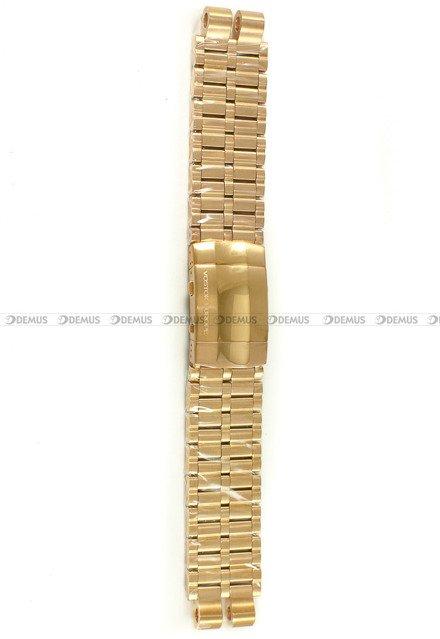Bransoleta stalowa do zegarka Vostok Energia NH35A-575B281 - 20 mm - Różowe Złoto