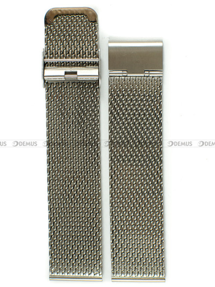 Bransoleta stalowa mesh do zegarka - Bra16 - 22 mm
