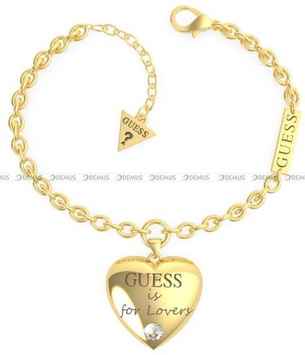Bransoletka Guess - Guess Is For Lovers UBB70035-S