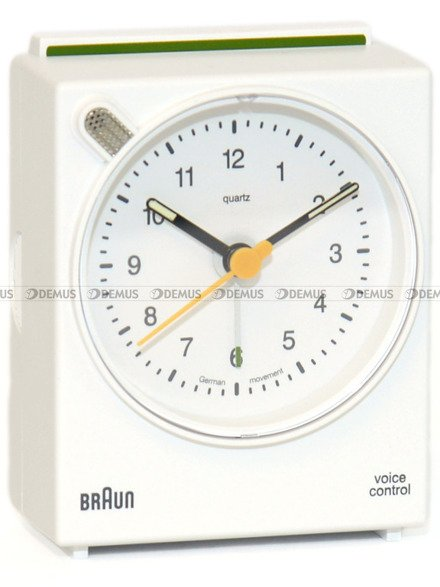 Budzik Braun BNC004WHWH