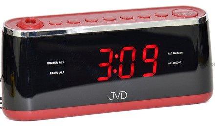 Budzik sieciowy z radiem JVD SB97.1