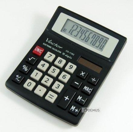 Kalkulator biurowy Vector CD-1182