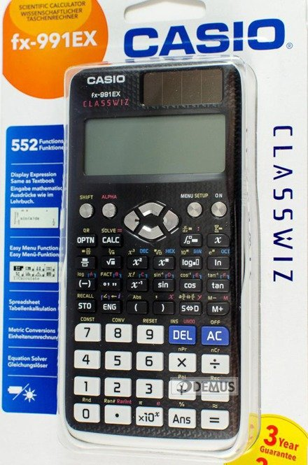 Kalkulator naukowy Casio ClassWiz FX-991EX