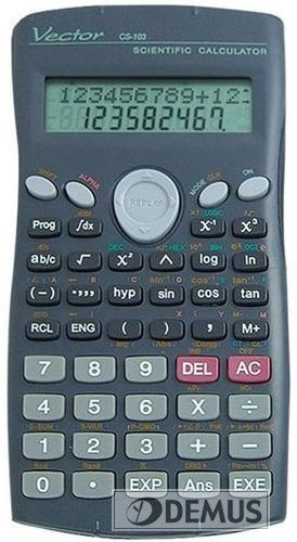 Kalkulator naukowy Vector CS-103