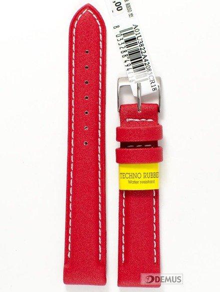 Pasek do zegarka gumowy - Morellato A01U3822A42083 18 mm