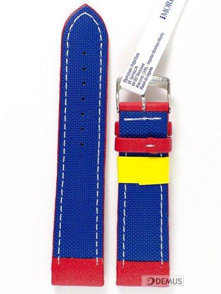Pasek do zegarka gumowy - Morellato A01U3822A42083 22 mm