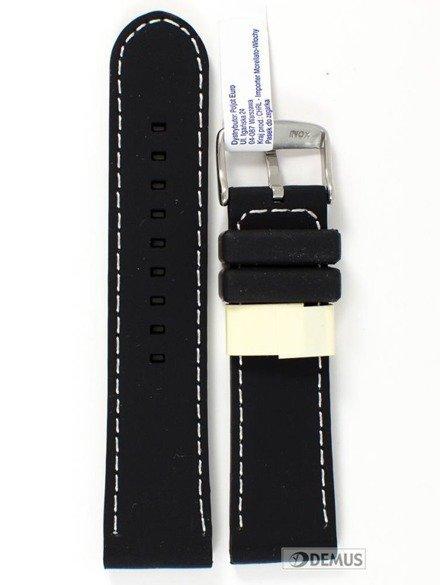 Pasek do zegarka silikonowy - Morellato A01U3844187019 24 mm