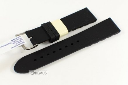 Pasek do zegarka silikonowy - Morellato A01X4410187019 20mm