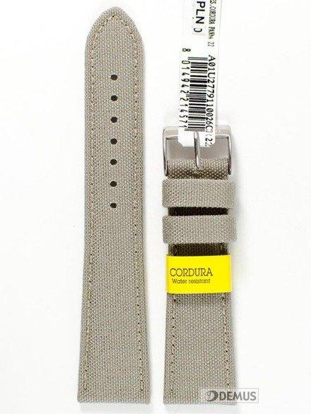 Pasek do zegarka skórzano-nylonowy - Morellato A01U2779110026 22 mm