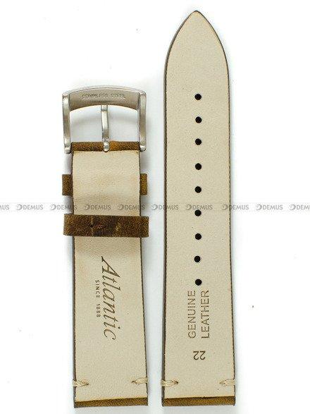 Pasek do zegarka skórzany Atlantic - L70351 80371.02.22S - 22 mm