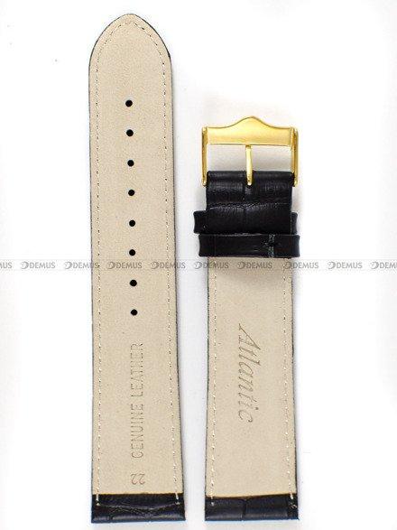 Pasek do zegarka skórzany Atlantic - PA ATL4.01.22G - 22 mm