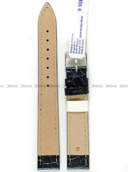 Pasek do zegarka skórzany - Morellato A01U0751376064CR16 - 16 mm