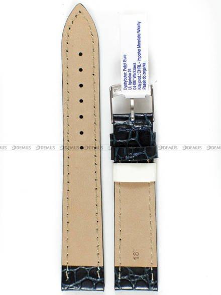 Pasek do zegarka skórzany - Morellato A01U0751376064CR18 - 18 mm
