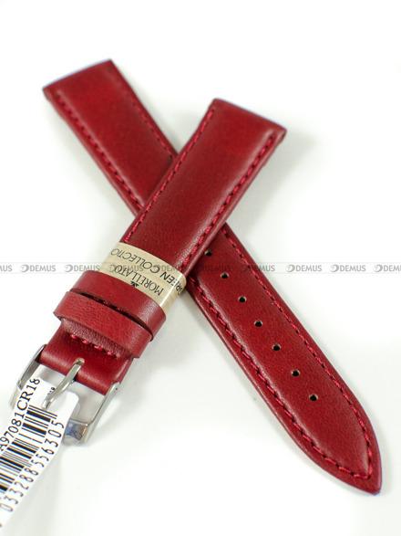 Pasek do zegarka skórzany - Morellato A01X4219A97081 18 mm