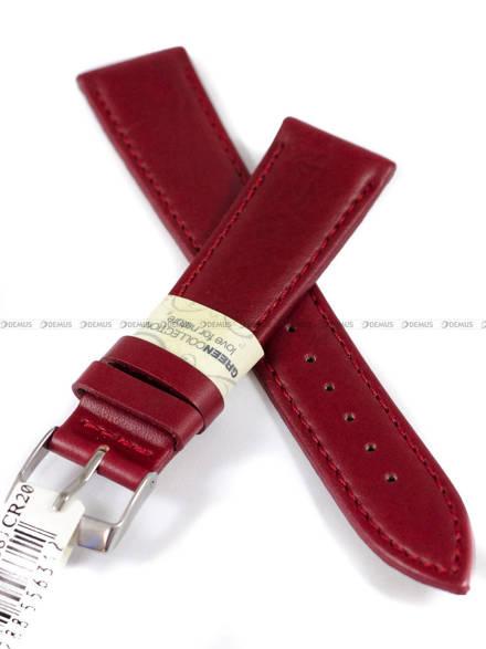 Pasek do zegarka skórzany - Morellato A01X4219A97081 20 mm
