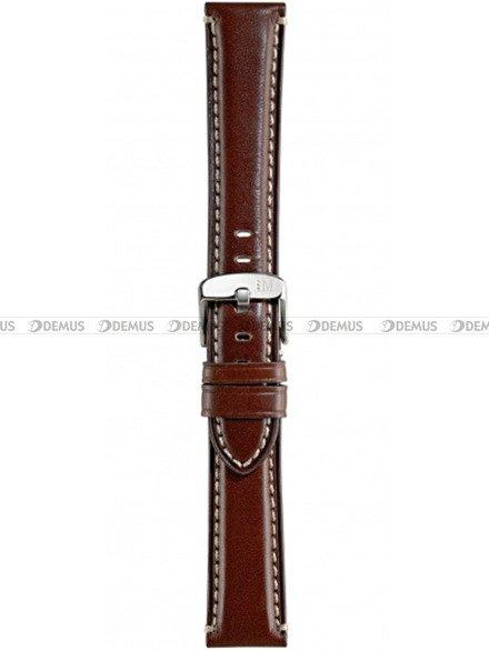 Pasek do zegarka skórzany - Morellato A01X4272B12034 22 mm