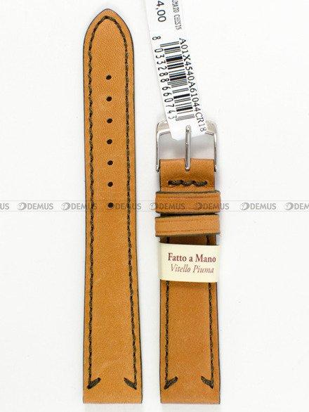 Pasek do zegarka skórzany - Morellato A01X4540A61044.18 - 18 mm