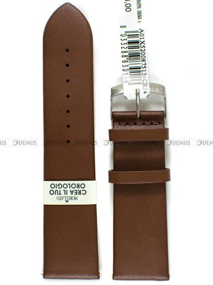 Pasek do zegarka skórzany - Morellato A01X5200875134CR24 - 24 mm