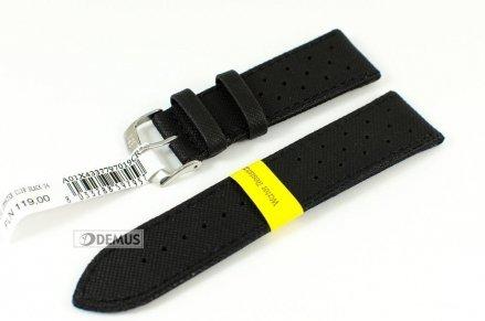 Pasek do zegarka wodoodporny skórzano-nylonowy - Morellato A01X4337797019 24mm