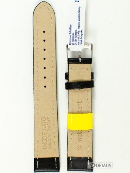 Pasek do zegarka wodoodporny skórzany - Morellato A01U3151237019 18mm