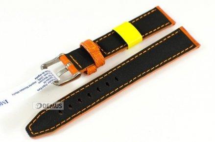 Pasek do zegarka wodoodporny skórzany - Morellato A01X4497B44086 18mm