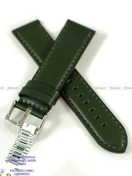Pasek do zegarka wodoodporny skórzany - Morellato A01X5123C03070CR20 - 20 mm
