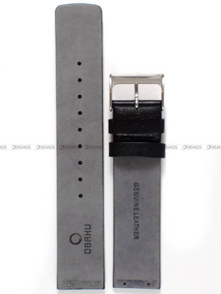 Pasek do zegarków Obaku V153G - V153GCIRB - 20 mm