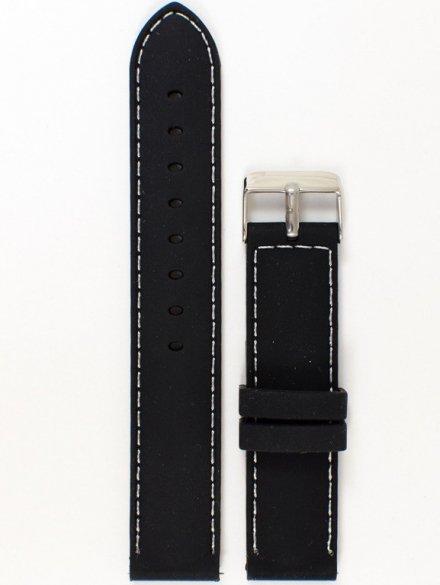Pasek gumowy do zegarka JVD PG1.20MM.1.7