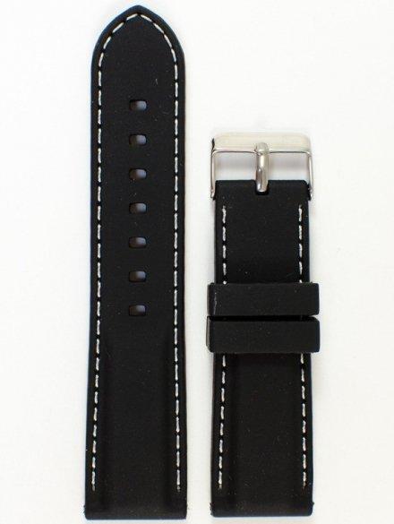 Pasek gumowy do zegarka JVD PG1.24MM.1.7