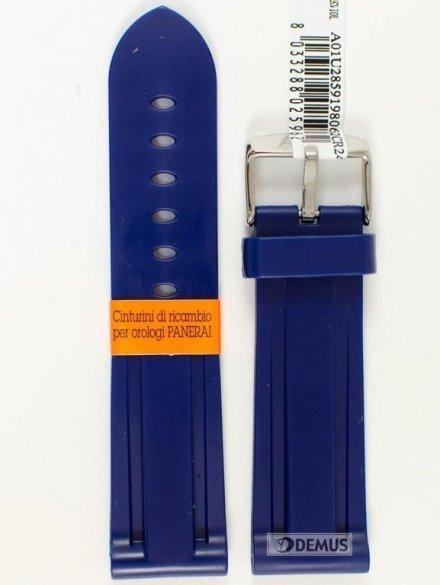 Pasek gumowy do zegarka - Morellato A01U2859198062 24mm