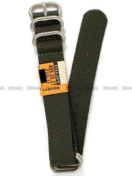 Pasek nylonowy do zegarka - Diloy 409.20.27 - 20 mm
