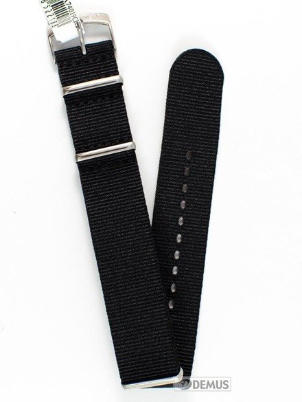 Pasek nylonowy do zegarka - Morellato A01U3972A74019 22 mm