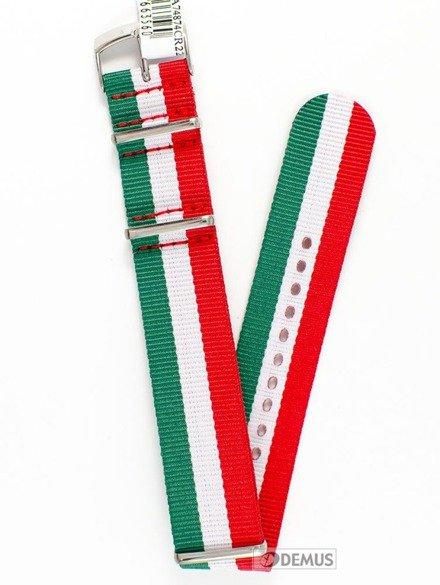 Pasek nylonowy do zegarka - Morellato A01U3972A74874 22 mm